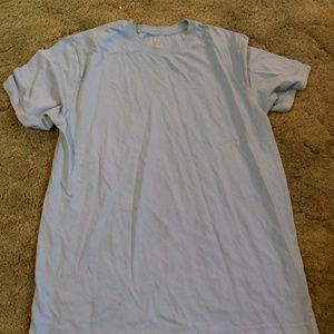 Mens baby blue george t shirt